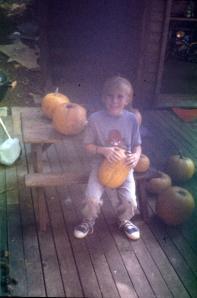 Bill was proud of his pumpkin haul.