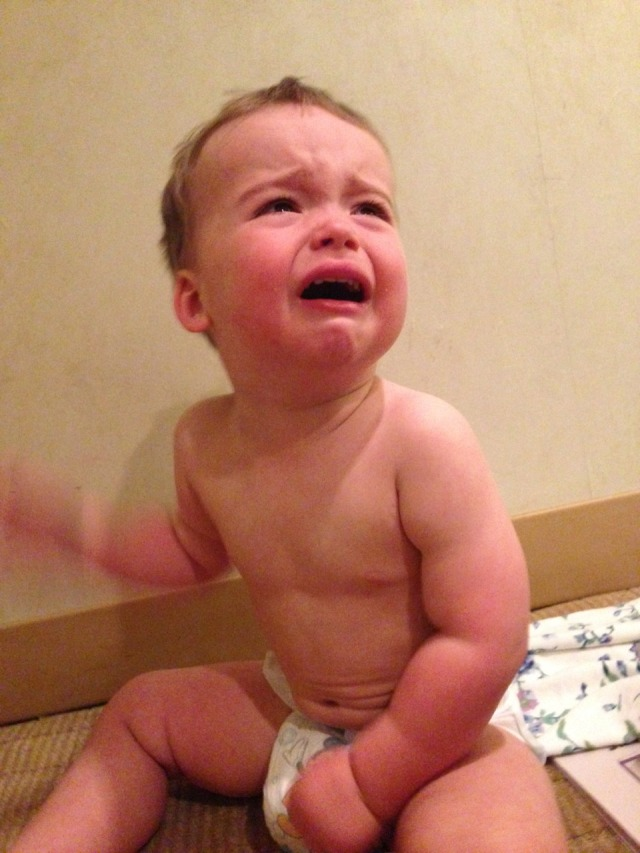 A typical photo from Reasons My Son Is Crying.