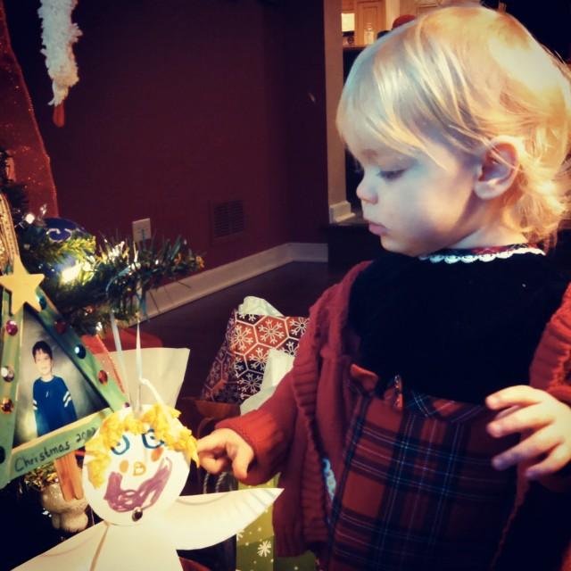 Peeper Christmas dress - Ten Thousand Hour Mama