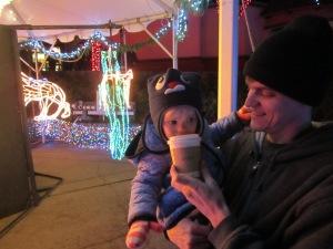 Zoo Lights Hot Cocoa - Ten Thousand Hour Mama