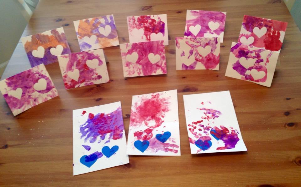 Elegant Toddler Valentineu0027s Day Cards 4