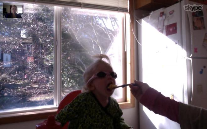 Skype with toddler - Ten Thousand Hour Mama