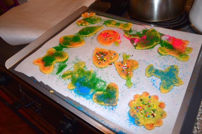 Sugar cookies no frosting decorations toddler