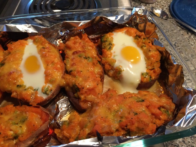 Tips for Twice Baked Sweet Potatoes with Eggs