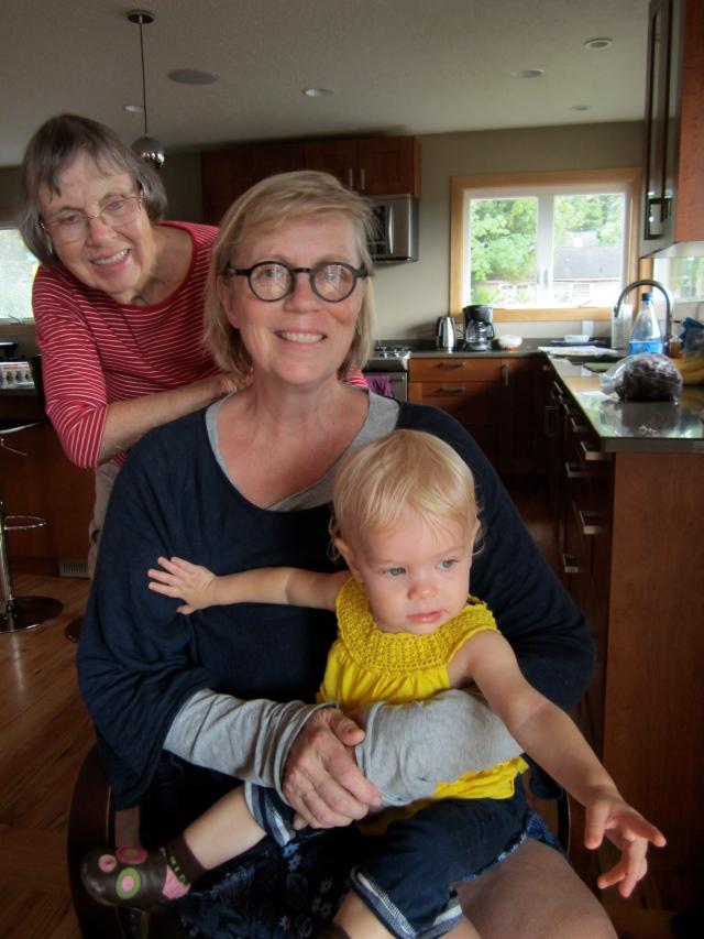 four generations women grandmas