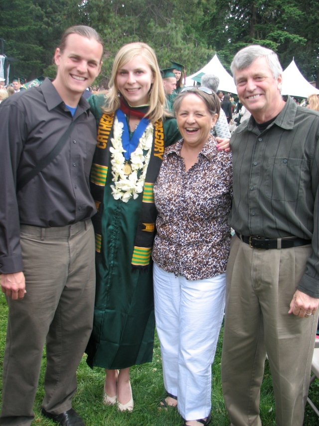 Graduation with in-laws
