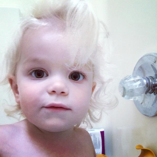 crazy toddler hair