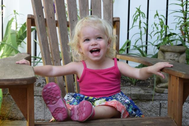 Toddler adirondack chair