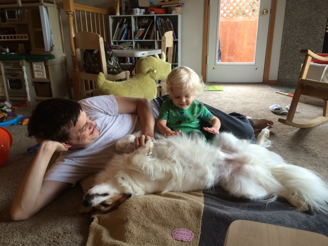 toddler pets dog father's day
