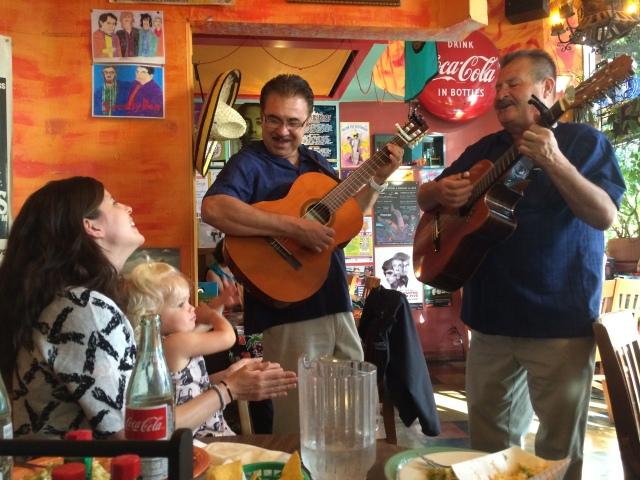 Toddler Mexican ballad music