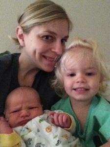 Balancing life with two kids