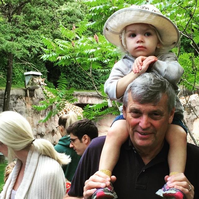 Grandpa Oregon zoo